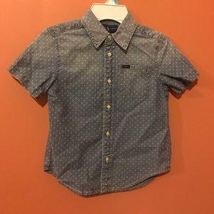 New!! Polo Ralph Lauren Boys Star Cotton  Shirt